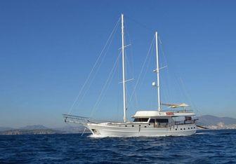 Gul Sultan yacht charter Bodrum Shipyard Motor/Sailer Yacht