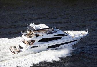 Glasax yacht charter Sunseeker Motor Yacht
