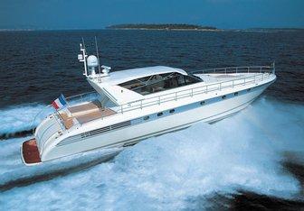 M yacht charter Leopard Motor Yacht