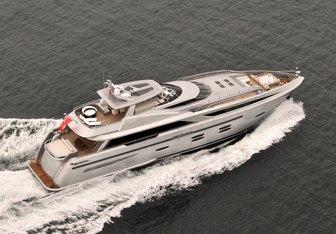Funky Choice yacht charter Logos Marine Motor Yacht