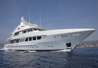 Kathleen Anne charter yacht interior designed by Bannenberg & Rowell
