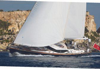 Mathilda Sound yacht charter Oyster Yachts Sail Yacht