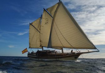 Dirdam yacht charter Custom Sail Yacht