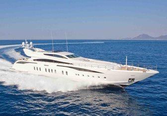 Lisa IV yacht charter Leopard Motor Yacht