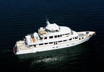 Empire Sea yacht charter Crystal Yachts Motor Yacht