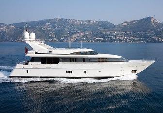 La Mascarade yacht charter Feadship Motor Yacht