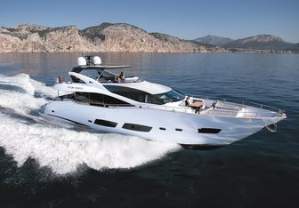 High Energy yacht charter Sunseeker Motor Yacht