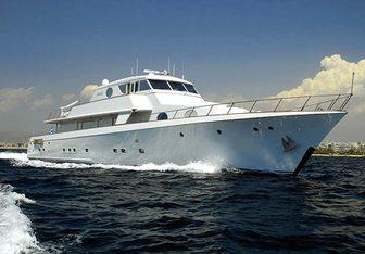 Xiphias yacht charter Esterel Motor Yacht