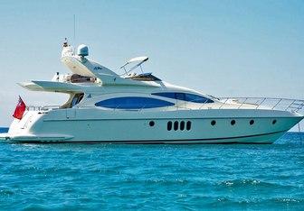 Lady Renee yacht charter Azimut Motor Yacht