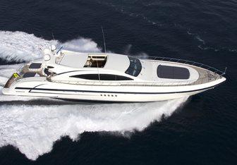 Gagagris yacht charter Overmarine Motor Yacht