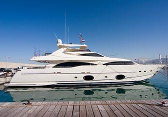 Aquaholic yacht charter Custom Line Motor Yacht