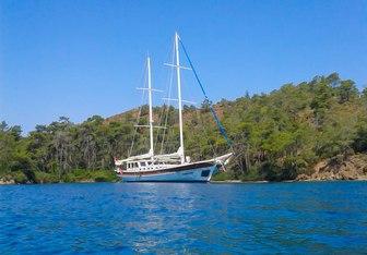 Fatma Kristina yacht charter Custom Sail Yacht