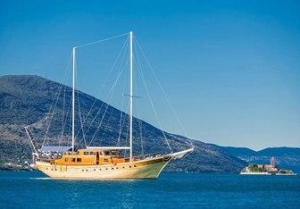 Kaya Gunery II yacht charter Bodrum Shipyard Sail Yacht