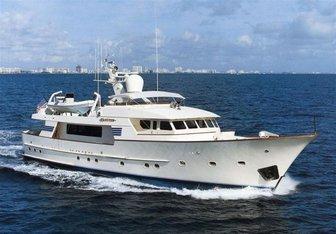 Huntress yacht charter Ditmar Donaldson Motor Yacht