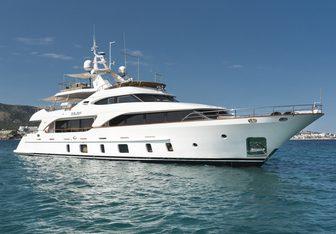 Orso 3 yacht charter Benetti Motor Yacht