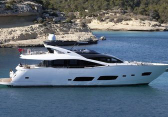 RAY III yacht charter Sunseeker Motor Yacht