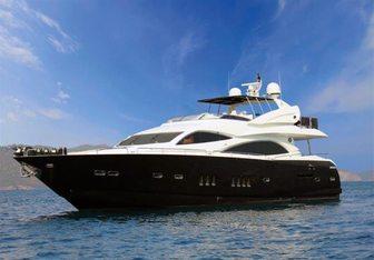 Leading Fearlessly yacht charter Sunseeker Motor Yacht