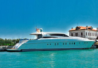Camy charter yacht interior designed by Dalla Pietà