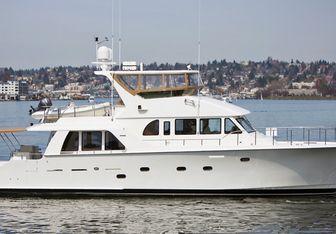 Illiquid yacht charter Cheoy Lee Motor Yacht