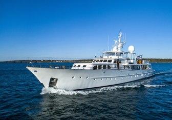 Cetacea yacht charter Feadship Motor Yacht