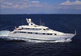 CD Two charter yacht interior designed by Claudio Zampetti,Nicolini & Celi