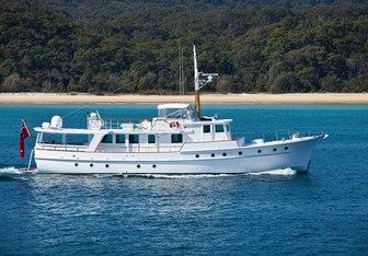 Bali Hai II  yacht charter Norman R. Wright & Sons Motor Yacht