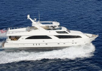 Cynderella yacht charter Hargrave Motor Yacht
