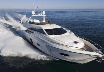 Sea Wind yacht charter Ferretti Yachts Motor Yacht