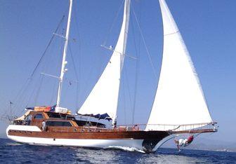 Besame Mucho yacht charter Pelitoglu Yachting Sail Yacht