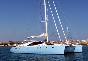 Sagittarius yacht charter Privilege Yard Motor/Sailer Yacht