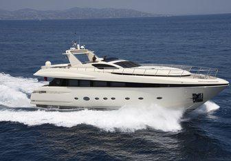 Tristan yacht charter Rodriquez Yachts Motor Yacht