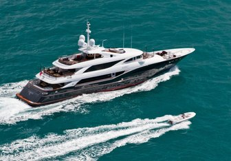 Liberty charter yacht exterior designed by Andrea Vallicelli