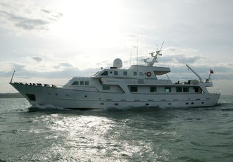 South Paw C charter yacht interior designed by Bannenberg & Rowell