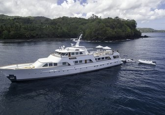 Calypso yacht charter Feadship Motor Yacht