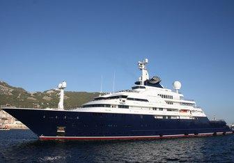 Octopus yacht charter Lurssen Motor Yacht