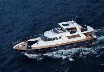 Bibo yacht charter Nuovi Cantieri Liguri Motor Yacht