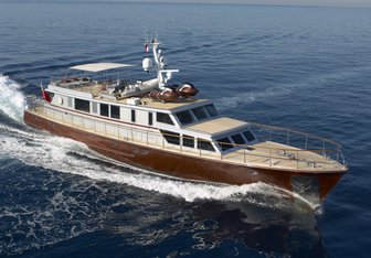 Tempest WS charter yacht exterior designed by André Mauric