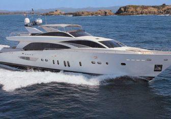 Lady Emma yacht charter Couach Motor Yacht