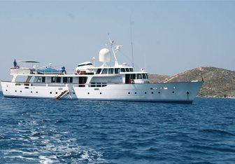 Aurora charter yacht exterior designed by Camper & Nicholsons