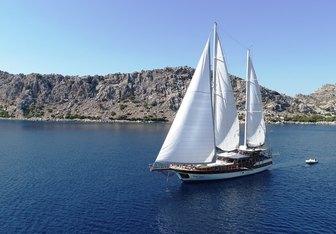 Ilknur Sultan Yacht Charter in Crete