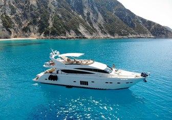 Gia Sena yacht charter Princess Motor Yacht