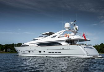 Queen of Sheba yacht charter Custom Line Motor Yacht