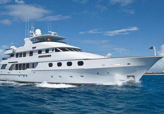 Queen D yacht charter Christensen Motor Yacht