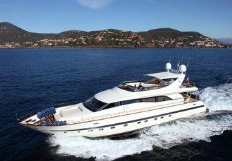 Bluebird of Happiness yacht charter Leopard Motor Yacht