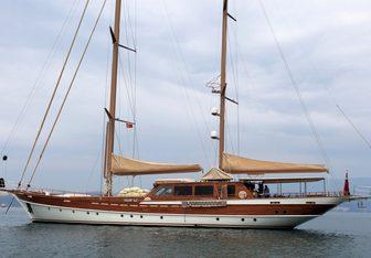 Don Chris yacht charter Barka Shipyard Sail Yacht
