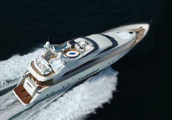 Naseem yacht charter Dominator Motor Yacht