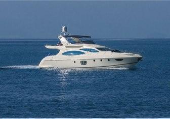 Almaz yacht charter Azimut Motor Yacht