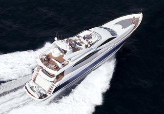 Dreamster yacht charter Sunseeker Motor Yacht