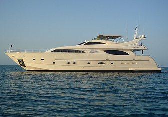 One by One yacht charter Custom Line Motor Yacht