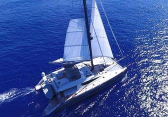 Namaste yacht charter Privilege Yard Sail Yacht